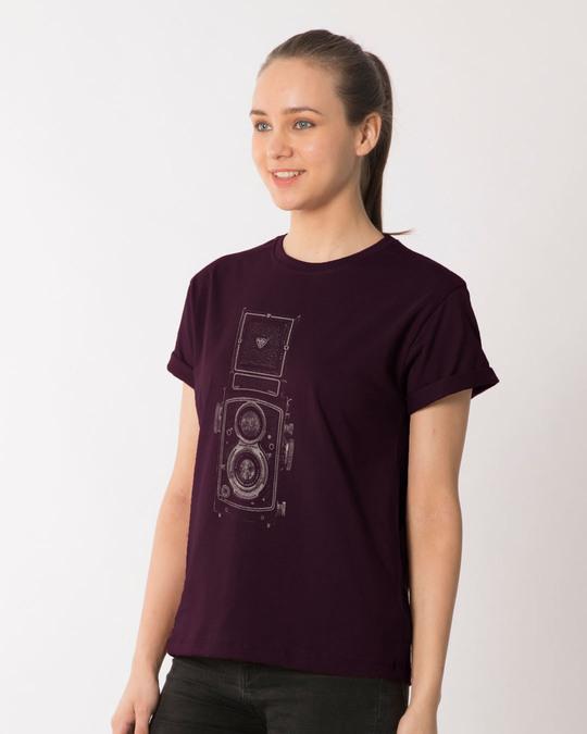 Shop Vintage Click Boyfriend T-Shirt-Back