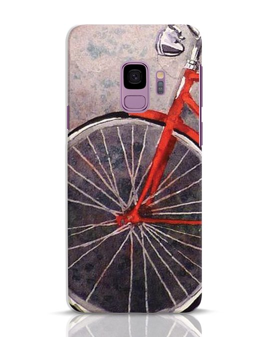 Shop Vintage Cycle Samsung Galaxy S9 Mobile Cover-Front