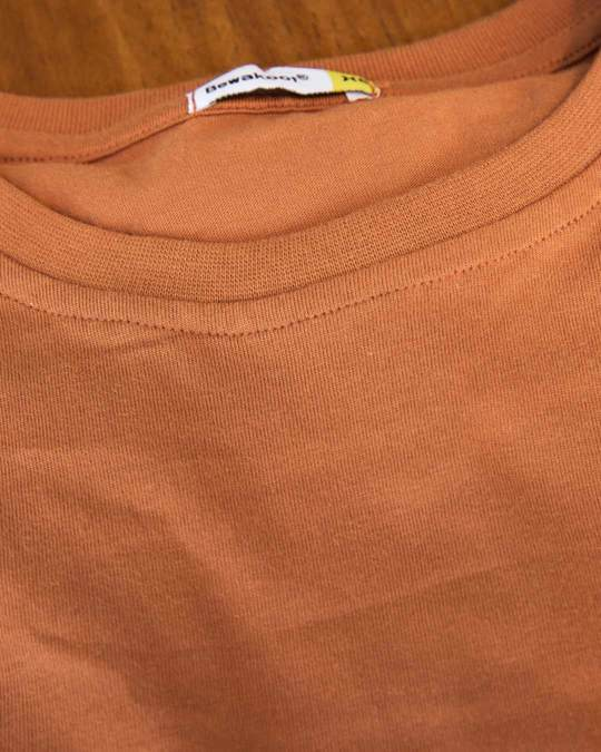 Shop Vintage Orange Boyfriend T-Shirt