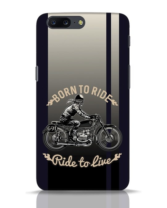 Shop Vintage Rider OnePlus 5 Mobile Cover-Front