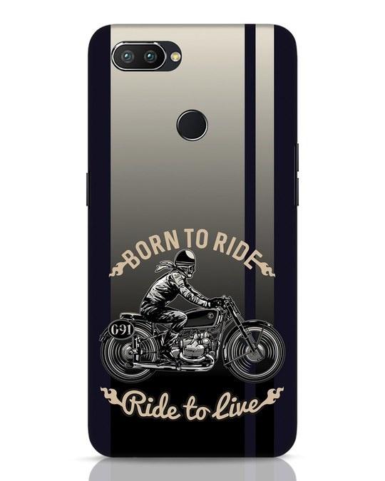 Shop Vintage Rider Realme 2 Pro Mobile Cover-Front