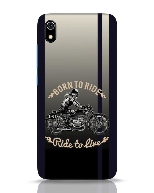 Shop Vintage Rider Xiaomi Redmi 7A Mobile Cover-Front