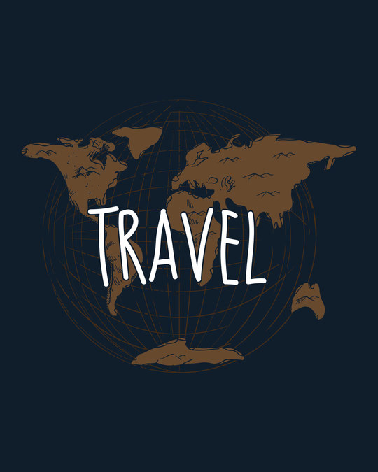 Shop Vintage Travel Half Sleeve T-Shirt
