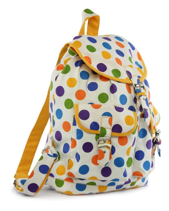 Shop Multipolka Printed Backpack-Design