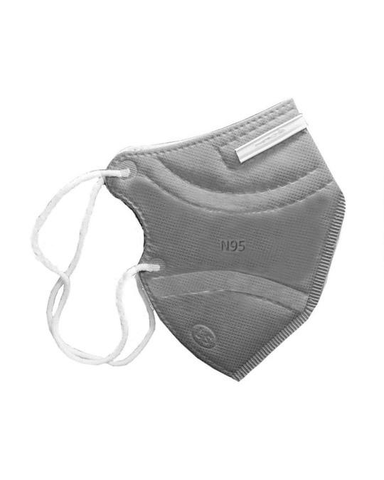 Shop Pack Of 5  N95 Grey Mask-Back