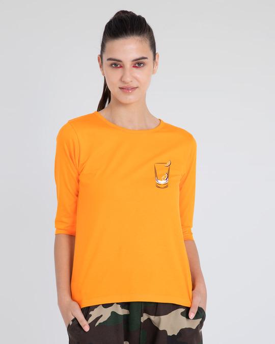 Shop Vodka Bad Decisions 3/4th Sleeve T-Shirt-Back