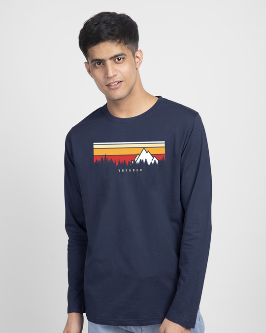 Shop Voyager! Full Sleeve T-Shirt-Front