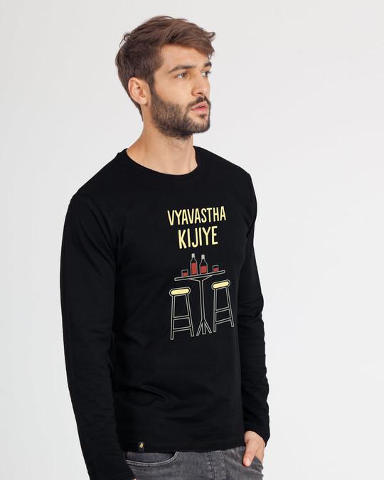 Shop Vyvastha Full Sleeve T-Shirt-Back