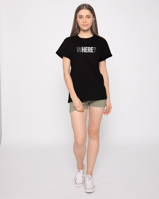 Shop W-here Boyfriend T-Shirt