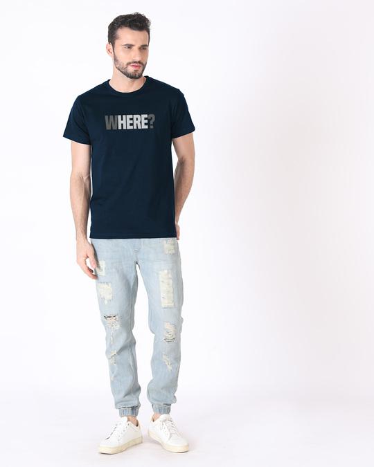Shop W-here Half Sleeve T-Shirt