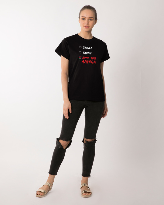 Shop Wait And Watch Boyfriend T-Shirt