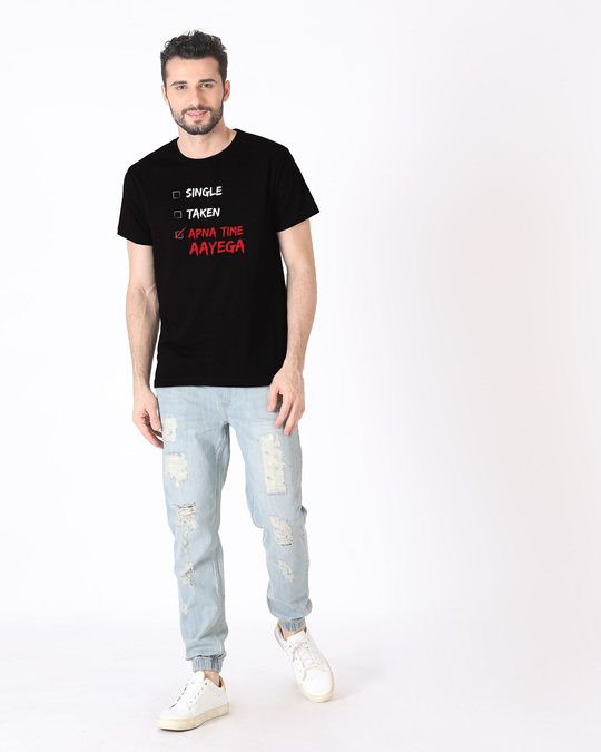 Shop Wait And Watch Half Sleeve T-Shirt