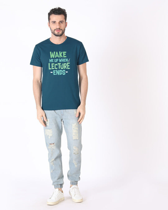 Shop Wake Me Up Half Sleeve T-Shirt