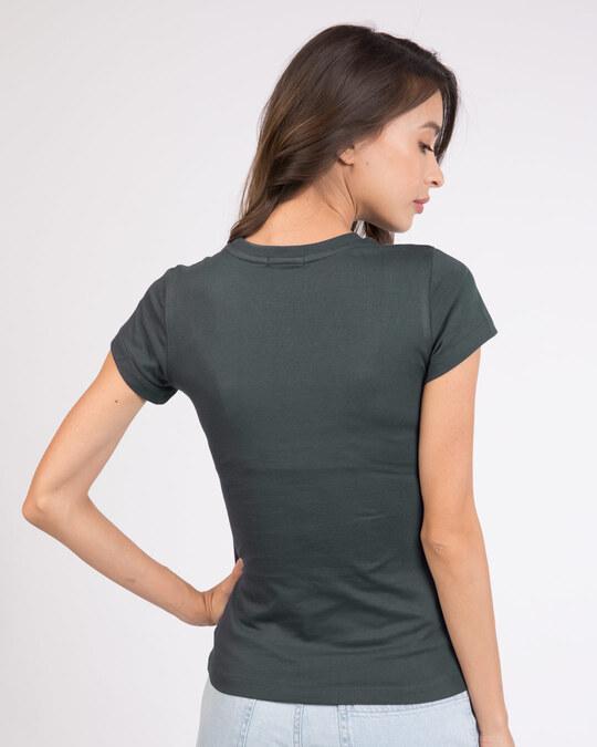 Shop Wake Up And Shine Half Sleeve T-Shirt-Back