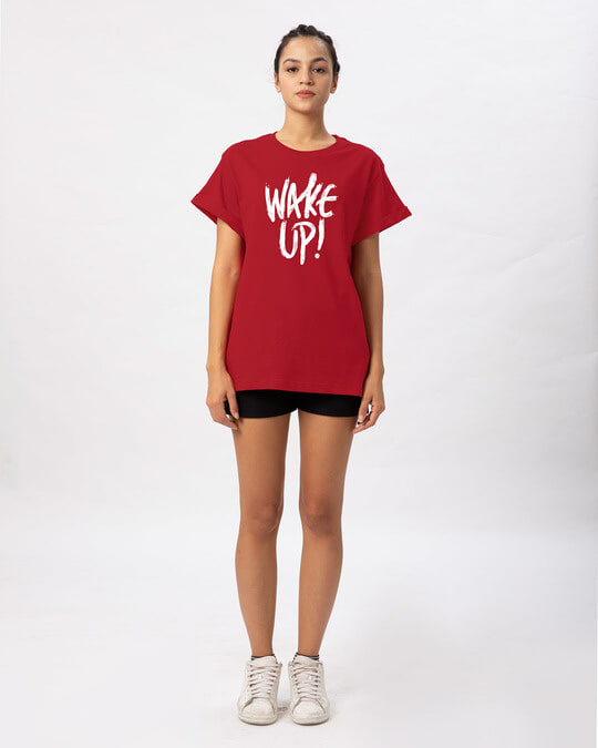Shop Wake Up Boyfriend T-Shirt-Full