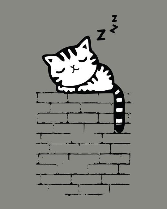 Shop Wall Kitty Boyfriend T-Shirt