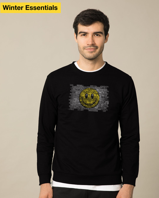 Shop Wall Smile Sweatshirt-Front