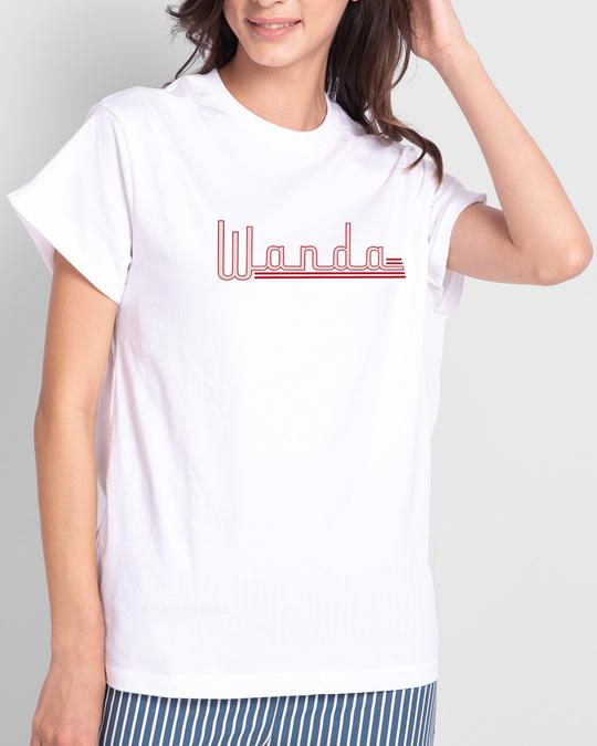 Shop Wanda Boyfriend T-Shirts (WVL)-Front