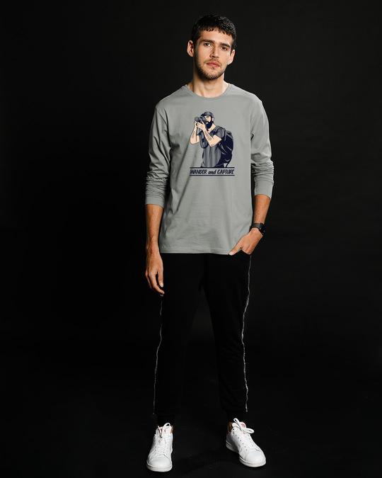 Shop Wander And Capture Full Sleeve T-Shirt-Full