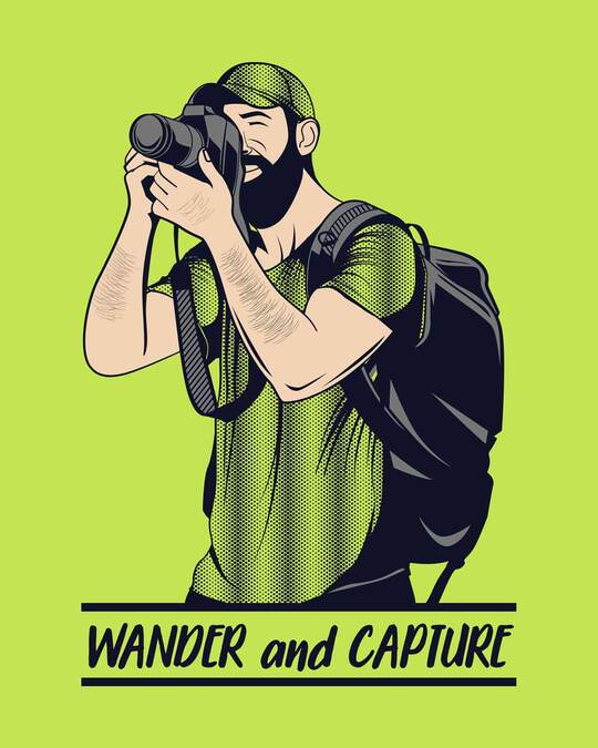 Shop Wander And Capture Full Sleeve T-Shirt-Full