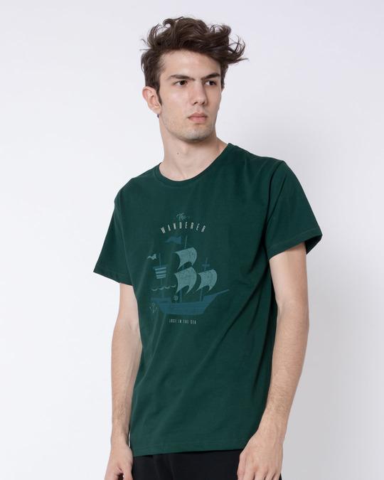Shop Wanderer Half Sleeve T-Shirt-Full