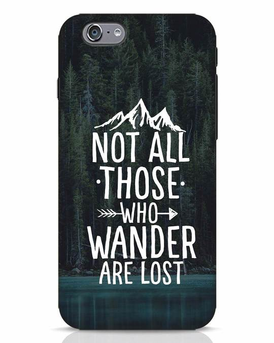 Shop Wanderer iPhone 6s Mobile Cover-Front
