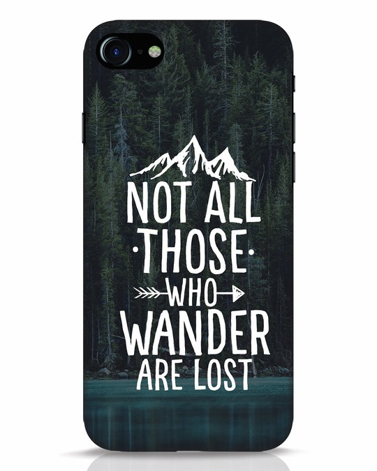 Shop Wanderer iPhone 7 Mobile Cover-Front