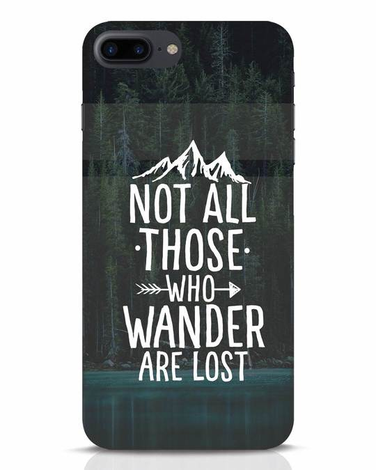 Shop Wanderer iPhone 7 Plus Mobile Cover-Front