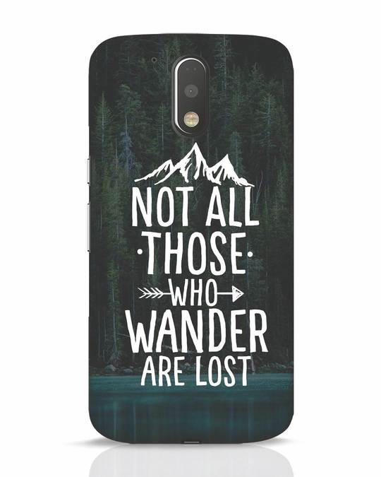 Shop Wanderer Moto G4 Plus Mobile Cover-Front