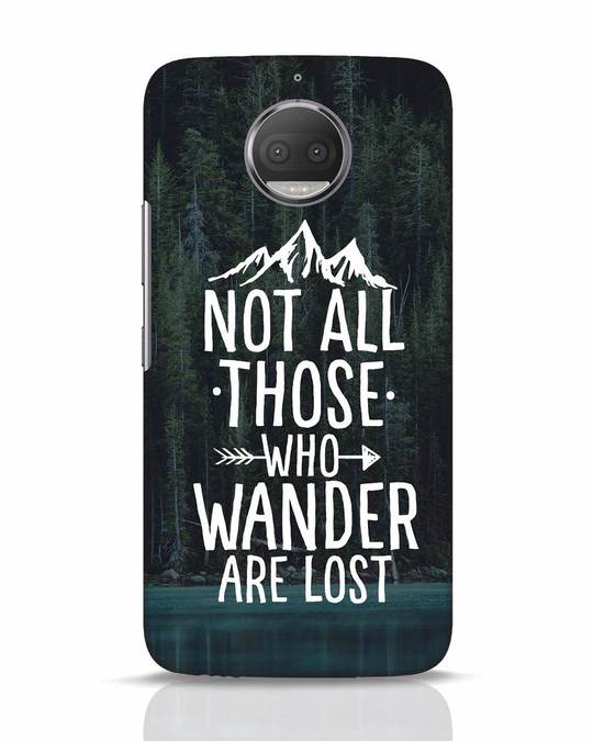 Shop Wanderer Moto G5s Plus Mobile Cover-Front