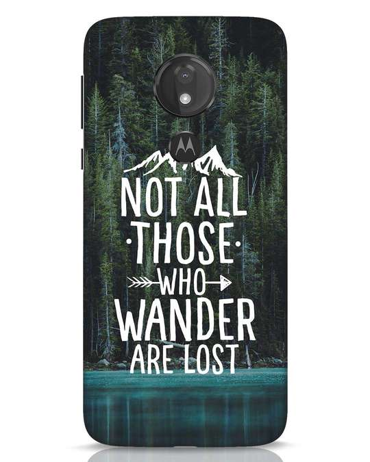 Shop Wanderer Moto G7 Power Mobile Cover-Front