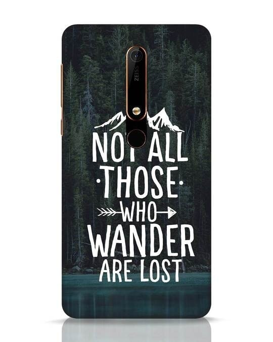 Shop Wanderer Nokia 6.1 Mobile Cover-Front