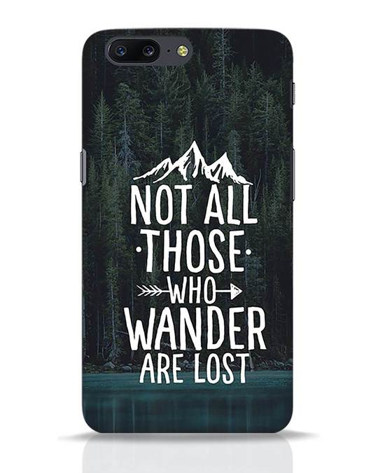Shop Wanderer OnePlus 5 Mobile Cover-Front