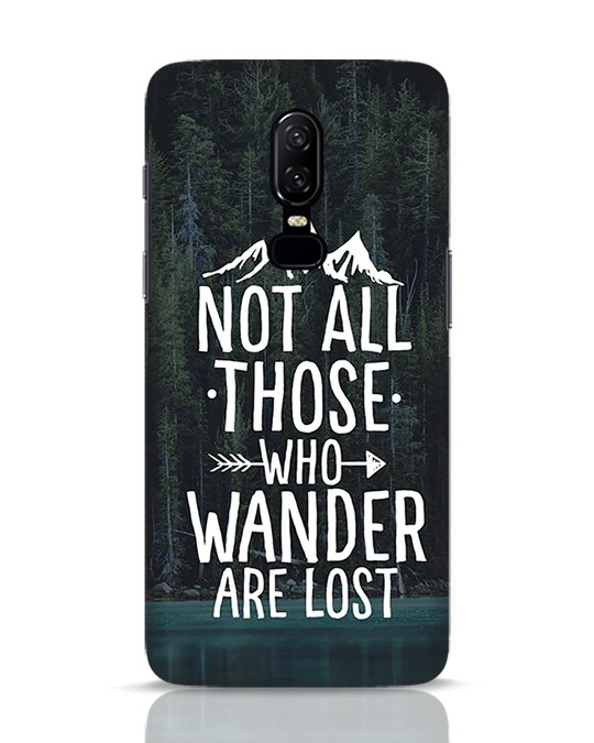 Shop Wanderer OnePlus 6 Mobile Cover-Front