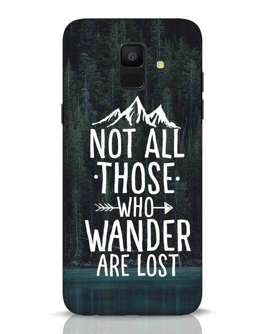 Shop Wanderer Samsung Galaxy A6 2018 Mobile Cover-Front