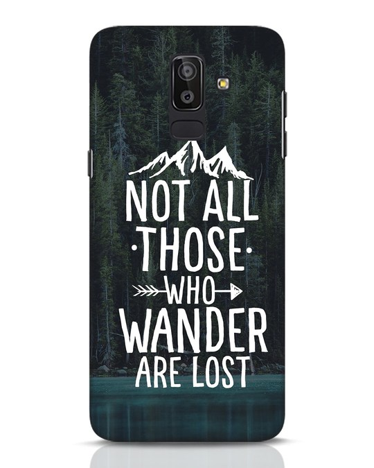 Shop Wanderer Samsung Galaxy J8 Mobile Cover-Front