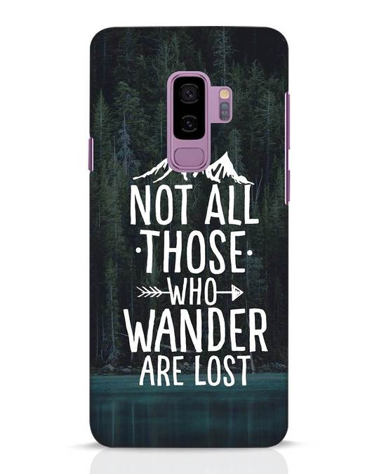 Shop Wanderer Samsung Galaxy S9 Plus Mobile Cover-Front