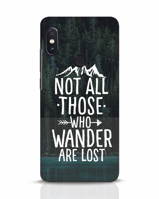 Shop Wanderer Xiaomi Redmi Note 5 Pro Mobile Cover-Front