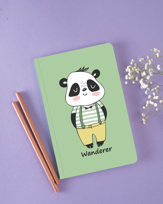 Shop Wandering Panda Notebook
