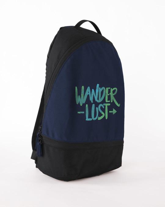Shop Wanderlust Small Backpack-Back