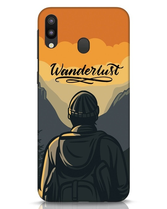 Shop Wanderlust Man Samsung Galaxy M20 Mobile Cover-Front