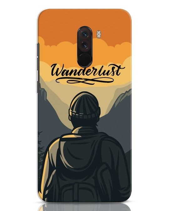 Shop Wanderlust Man Xiaomi POCO F1 Mobile Cover-Front