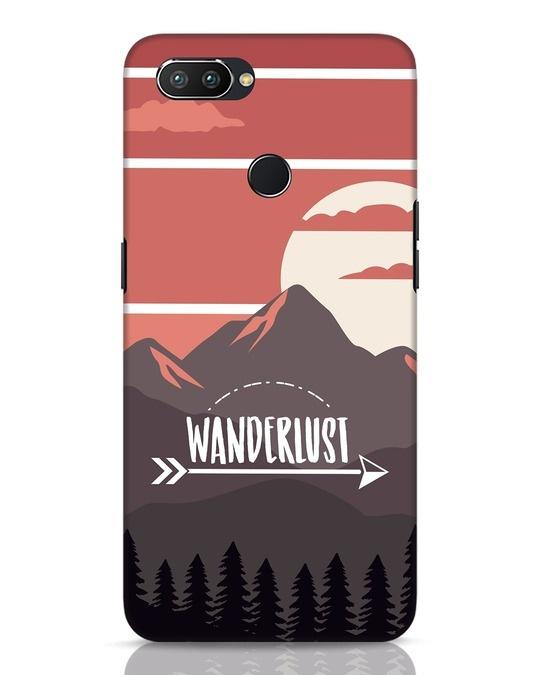 Shop Wanderlust Mountains Realme 2 Pro Mobile Cover-Front