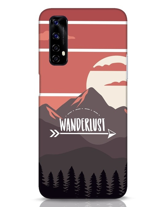 Shop Wanderlust Mountains Realme Narzo 20 Pro Mobile Cover-Front