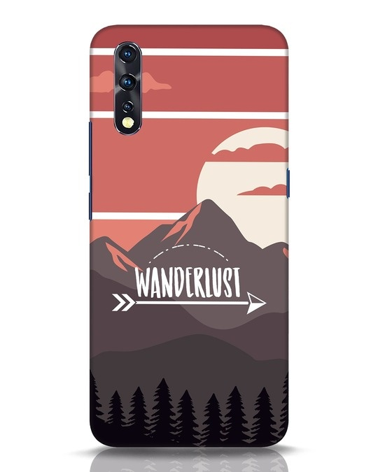 Shop Wanderlust Mountains Vivo Z1x Mobile Cover-Front