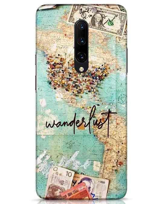 Shop Wanderlust OnePlus 7 Pro Mobile Cover-Front