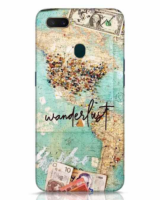 Shop Wanderlust Oppo A7 Mobile Cover-Front