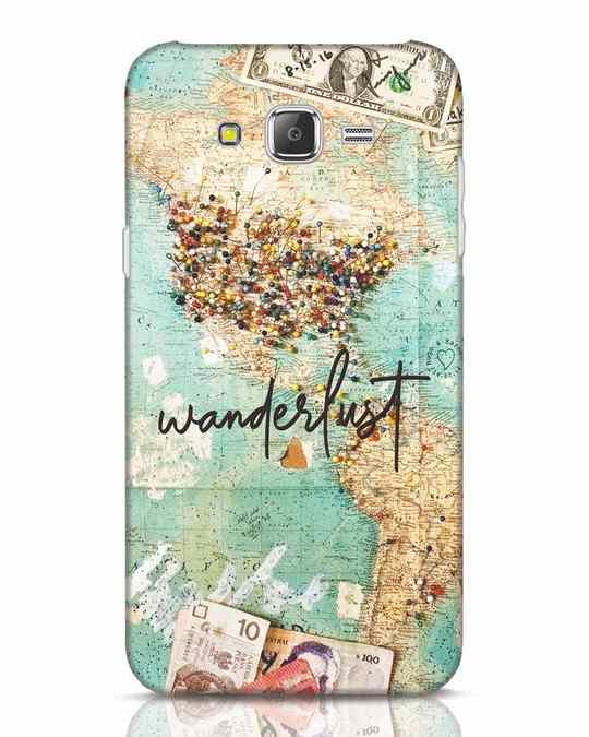Shop Wanderlust Samsung Galaxy J7 Mobile Cover-Front