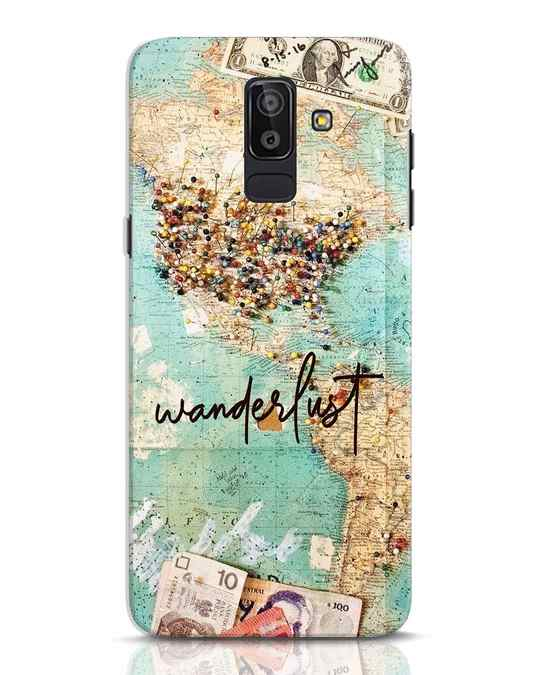 Shop Wanderlust Samsung Galaxy J8 Mobile Cover-Front
