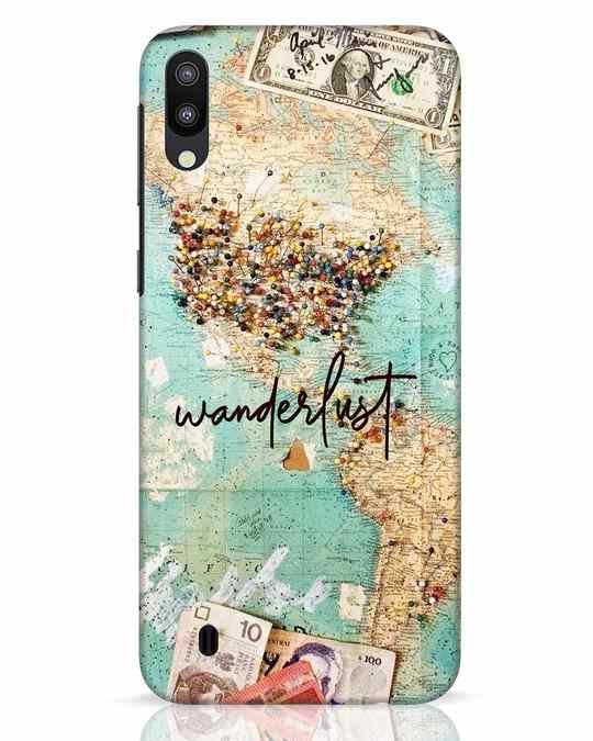 Shop Wanderlust Samsung Galaxy M10 Mobile Cover-Front